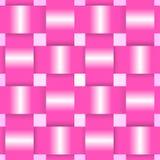 Pink ribbons card Stock Image