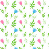 Floral seamless pattern. Vector Stock Photography