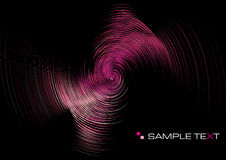 Pink ripple background Stock Photos
