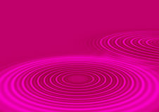 Pink Ripples Royalty Free Stock Photo