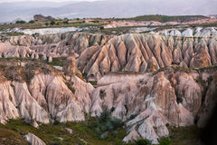 Pink rocks in Cappadocia Stock Photos