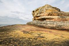Pink rocks, Kandira, Kocaeli, Turkey Royalty Free Stock Photography