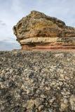 Pink rocks, Kandira, Kocaeli, Turkey Stock Image