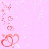 Pink romantic background Stock Photo