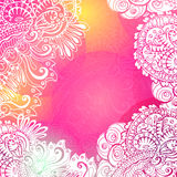 Pink Romantic background for meditation Stock Photo