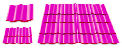 Pink roof Royalty Free Stock Photo