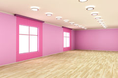 Pink room Royalty Free Stock Image