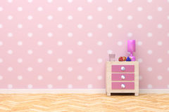 Pink room Stock Photos