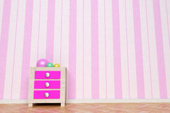 Pink room Stock Photography