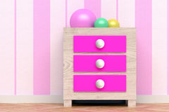 Pink room Royalty Free Stock Photography