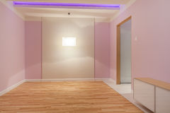 Pink room Stock Images