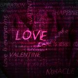 Pink rose background. Stock Image