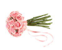 Pink rose bouquet royalty free stock photo