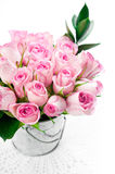 Pink rose bouquet Royalty Free Stock Images
