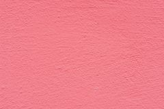 Pink rose cement plaster wall texture background. Stock Image