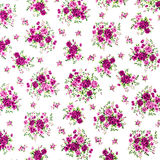 Pink Rose Fabric Background, Fragment of colorful retro tapestry Stock Photos