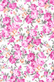 Pink rose fabric background Stock Photos