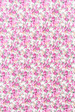Pink rose fabric background, Fragment of colorful retro tapestry Stock Photo