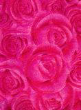 Pink rose fabric Royalty Free Stock Photo
