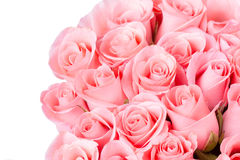 Pink rose flower bouquet vintage Stock Photography