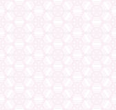 Pink rose geometry line seamless pattern. Royalty Free Stock Photos
