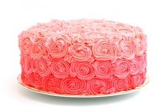 Pink Rose Gradient Cake Stock Image