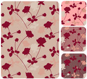 Pink roses. Floral seamless vector pattern vector illustration