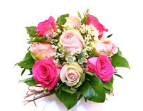 Pink Roses bouquet Royalty Free Stock Image