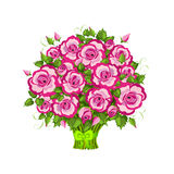 Pink roses bouquet . Royalty Free Stock Photography