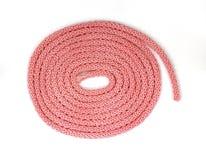 Pink Round Braided Cording Stock Photos