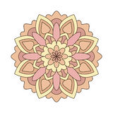 Pink round ornament pattern Royalty Free Stock Photos