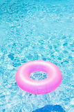 Pink rubber ring Stock Photography