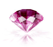 Pink ruby Stock Photo