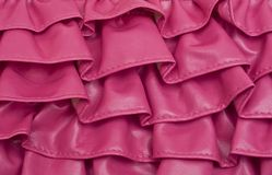 Pink Ruffle Texture Background Royalty Free Stock Photos
