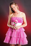 Pink ruffles Royalty Free Stock Photo