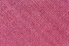 Pink sack cloth texture. Royalty Free Stock Image