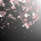 Pink sakura petals background. EPS 10 Royalty Free Stock Image