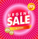 Pink Sale Stock Image