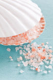 Pink salt Stock Image
