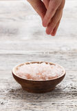 Pink salt Royalty Free Stock Photography