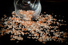 Pink salt from the Himalayas Royalty Free Stock Photos