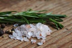 Pink salt Stock Images