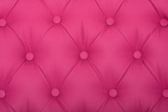 Pink sample of an upholstery of a sofa Stock Photo