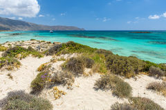 Pink Sand Beach of Elafonissi Stock Photography