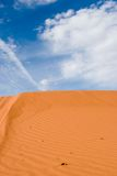 Pink sand dunes Stock Photos