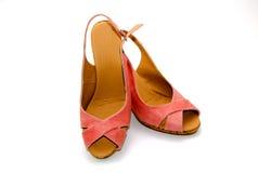 Pink sandal Stock Image
