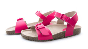 Pink sandal Royalty Free Stock Photography