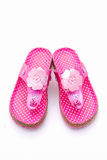 Pink sandals Stock Image