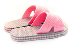Pink sandals for girls Royalty Free Stock Photography