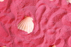 Pink sands travel Royalty Free Stock Images